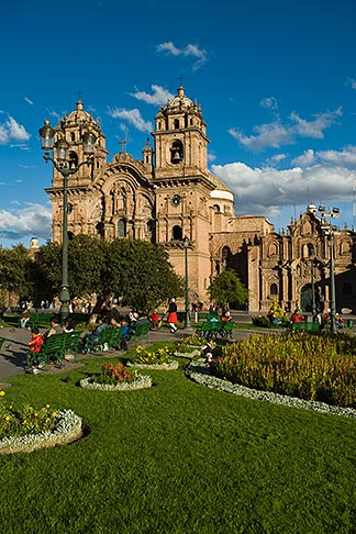 image 8-761-1023 Peru, Cuzco, Iglesia de la Compania de Jesus, Plaza de Armas