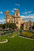 vertical stock photography | Peru, Cuzco, Iglesia de la Compa��a de Jesus, Plaza de Armas, image id 8-761-1023