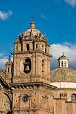 vertical stock photography | Peru, Cuzco, Iglesia de la Compa��a de Jesus, Plaza de Armas, image id 8-761-1029
