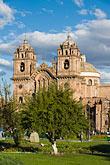 iglesia de la compania de jesus stock photography | Peru, Cuzco, Iglesia de la Compa��a de Jesus, Plaza de Armas, image id 8-761-1032
