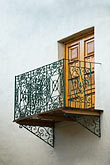 cuzco stock photography | Peru, Cuzco, Wrought-iron balcony, image id 8-761-1081
