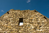 peruvian stock photography | Peru, Machu Picchu, Inca stone house, closeup of ruins, image id 8-761-1827