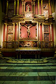 the cathedral stock photography | Peru, Lima, Lima Cathedral, side altar, image id 8-761-495