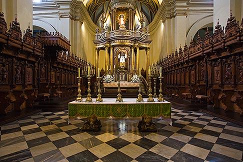 image 8-761-518 Peru, Lima, Lima Cathedral, main altar