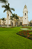 plaza major and lima cathedral stock photography | Peru, Lima, Plaza Major and Lima Cathedral, image id 8-761-572