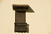 window stock photography | Peru, Cuzco, Wooden balcony and shuttered window, image id 8-761-934