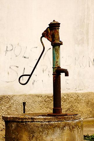 image 4-960-1228 Poland, Jelenia Gora, Village pump