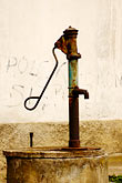 drinking water stock photography | Poland, Jelenia Gora, Village pump, image id 4-960-1228