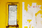worn stock photography | Poland, Jelenia Gora, Bus stop schedule, image id 4-960-1268