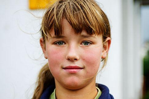 image 4-960-1308 Poland, Jelenia Gora, Young girl