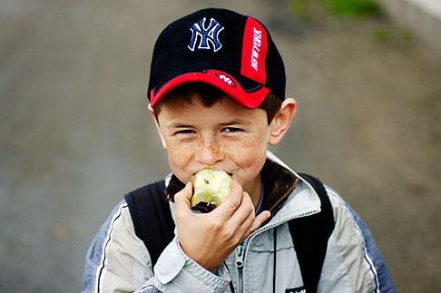 image 4-960-1309 Poland, Jelenia Gora, Young boy