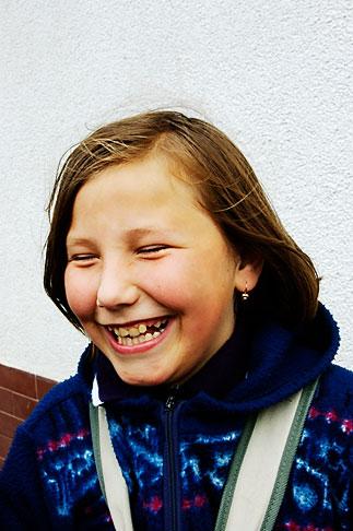 image 4-960-1321 Poland, Jelenia Gora, Young girl