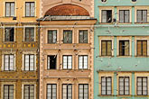 horizontal stock photography | Poland, Warsaw, Houses, Rynek Starego Miasta, Old Town Square, image id 7-700-7794