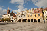 eastern europe stock photography | Poland, Tarnow, Rynek, Town Square, image id 7-720-419