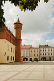 square stock photography | Poland, Tarnow, Town Hall, 15th century, Rynek, Town Square, image id 7-720-423