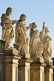 cracow stock photography | Poland, Krakow, Statues of Twelve Disciples, Church of Sts. Peter and Paul, Kosci�l swietego Piotra i Pawla, image id 7-730-8378