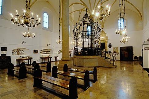 image 7-730-8811 Poland, Krakow, Interior, Old Synagogue, Stara Synagoga, Kazimierz