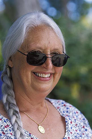 image 3-496-23 Portraits, Woman with sunglasses
