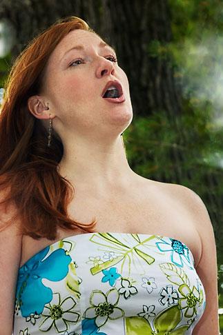 image 4-950-342 Portraits, Evelyn Pollock, Opera singer