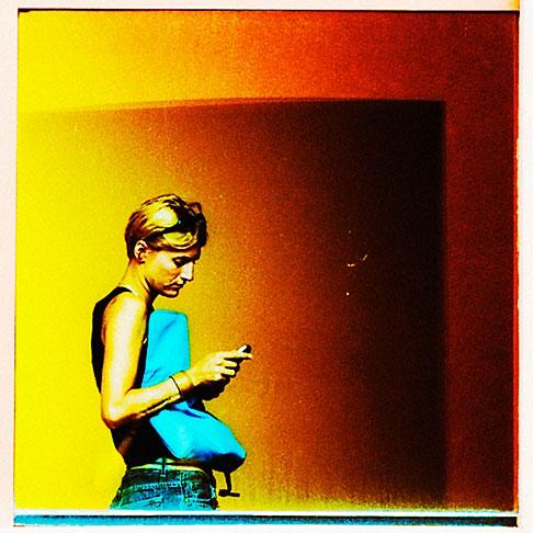 image S4-359-999 Portrait, Woman in window