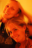 twosome stock photography | Portraits, Janet and Laura, image id S4-360-2082