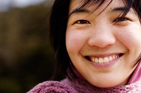 image S5-110-7232 Portraits, Smiling woman