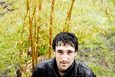 plant stock photography | Portraits, Man in the rain, image id S5-45-2665