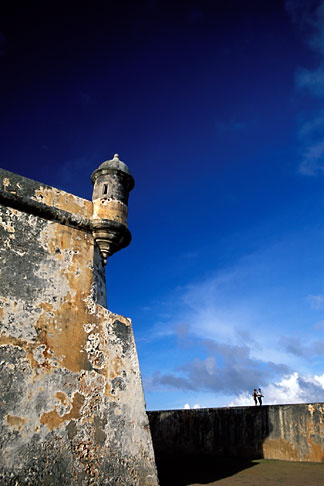 image 1-350-21 Puerto Rico, San Juan, El Morro, El Castillo San Felipe del Morro, 1549