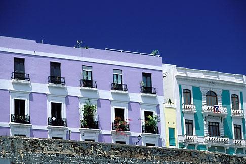 image 1-351-94 Puerto Rico, San Juan, Old city wall La Muralla