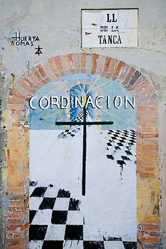 image 1-352-28 Puerto Rico, San Juan, Wall painting