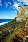 historical district stock photography | Puerto Rico, San Juan, Fuerte, 1678 San Crist�bal, image id 1-352-57