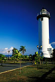light blue stock photography | Puerto Rico, Rinc�n, Lighthouse (El Faro), image id 1-353-50