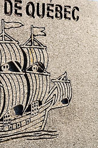 image 5-750-118 Canada, Quebec City, Colonial sailing ship