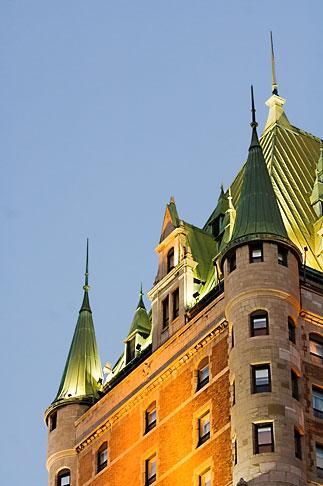 image 5-750-451 Canada, Quebec City, Chateau Frontenac