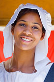 smile stock photography | Canada, Quebec City, Ftes de la Nouvelle France, Portrait, image id 5-750-8132