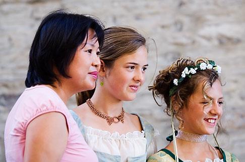 image 5-750-8172 Canada, Quebec City, Fetes de la Nouvelle France, Women