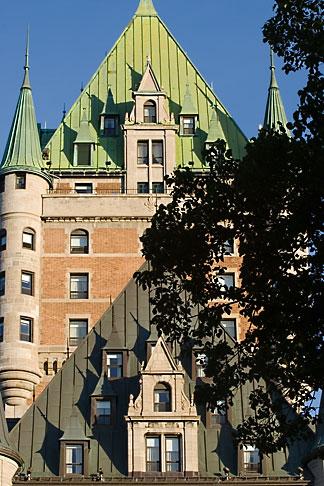 image 5-750-8244 Canada, Quebec City, Chateau Frontenac