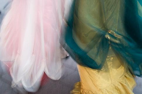image 5-750-8298 Canada, Quebec City, Fetes de la Nouvelle France, Dancers in parade