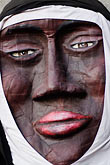 black stock photography | Canada, Quebec City, F�tes de la Nouvelle France, Giant mask in parade, image id 5-750-8324