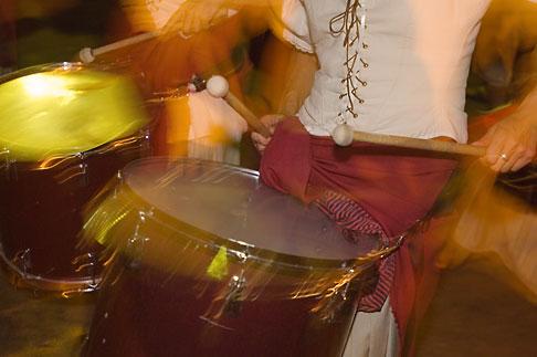 image 5-750-8454 Canada, Quebec City, Fetes de la Nouvelle France, Drumming