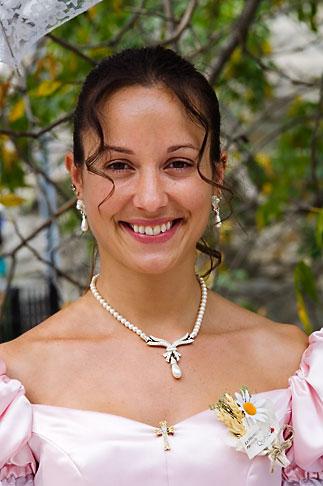 image 5-750-8494 Canada, Quebec City, Woman, portrait