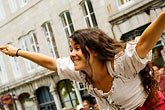 street fair stock photography | Canada, Quebec City, F�tes de la Nouvelle France, Dancer, image id 5-750-8588