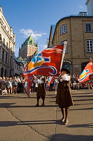 image 5-750-9022 Canada, Quebec City, Fetes de la Nouvelle France, Parade