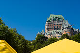 yellow stock photography | Canada, Quebec City, Chateau Frontenac, image id 5-750-9241