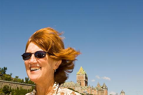image 5-750-9251 Canada, Quebec City, Portrait