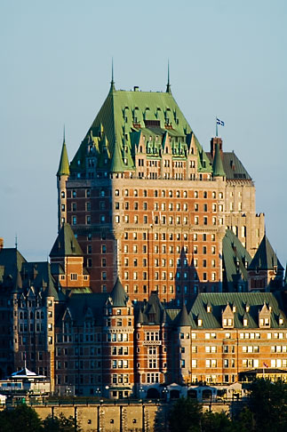 image 5-750-9416 Canada, Quebec City, Chateau Frontenac