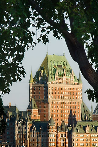 image 5-750-9442 Canada, Quebec City, Chateau Frontenac