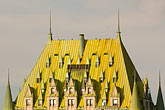 sky stock photography | Canada, Quebec City, Chateau Frontenac, image id 5-750-9627