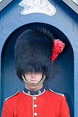 closeup portrait stock photography | Canada, Quebec City, Citadel, Honor Guard, Royal 22e R�giment, image id 5-750-9647