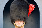 closeup portrait stock photography | Canada, Quebec City, Citadel, Honor Guard, Royal 22e R�giment, image id 5-750-9648